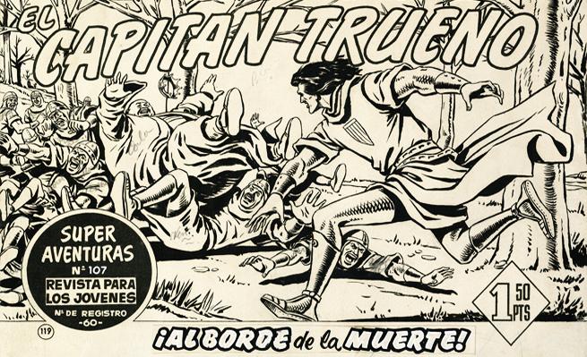 """""""El Capitán Trueno"""" se podrá ver en la exposición"""