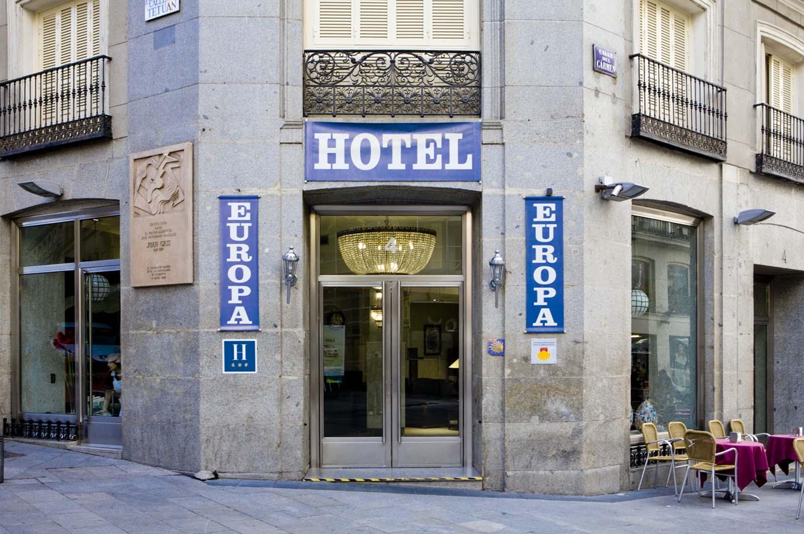 Fotos del hotel europa puerta del sol madrid for Hotel madrid sol